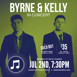 Byrne and Kelly in Concert - Kansas City Irish Center