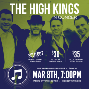 The High Kings in Concert - Kansas City Irish Center