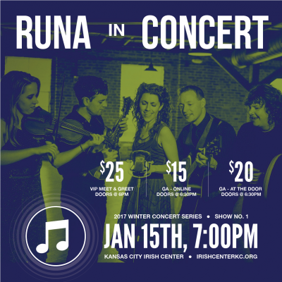 RUNA in Concert - Kansas City Irish Center