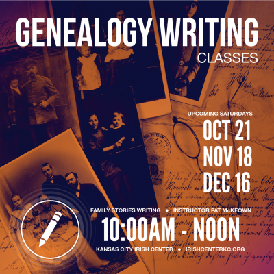 Genealogy Writing Oct-Dec-03