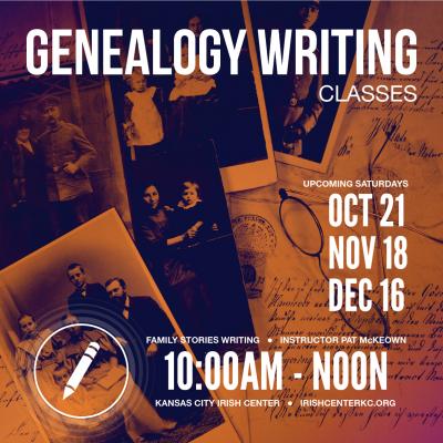 Genealogy Writing Oct-Dec-03