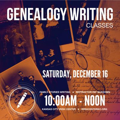 Genealogy Writing Dec-03