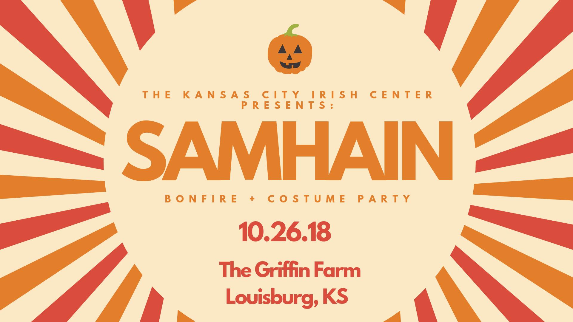 Samhain Bonfire - Oct. 26, 2018