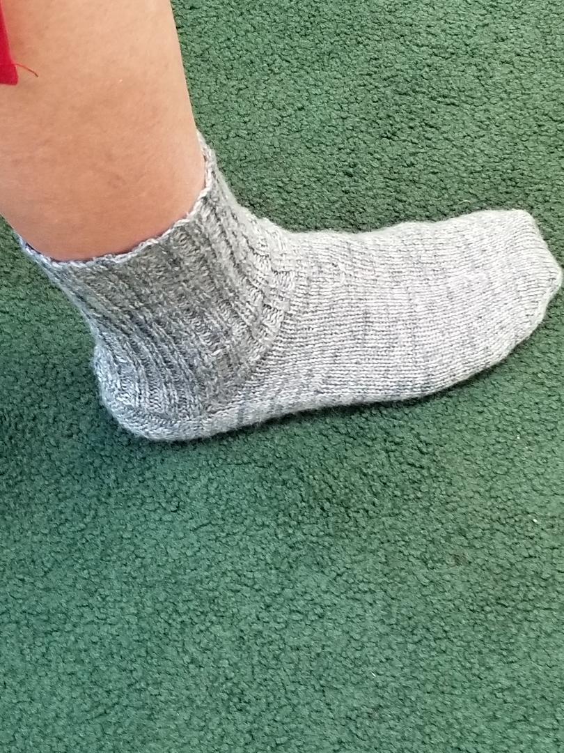 Sandy's First Sock