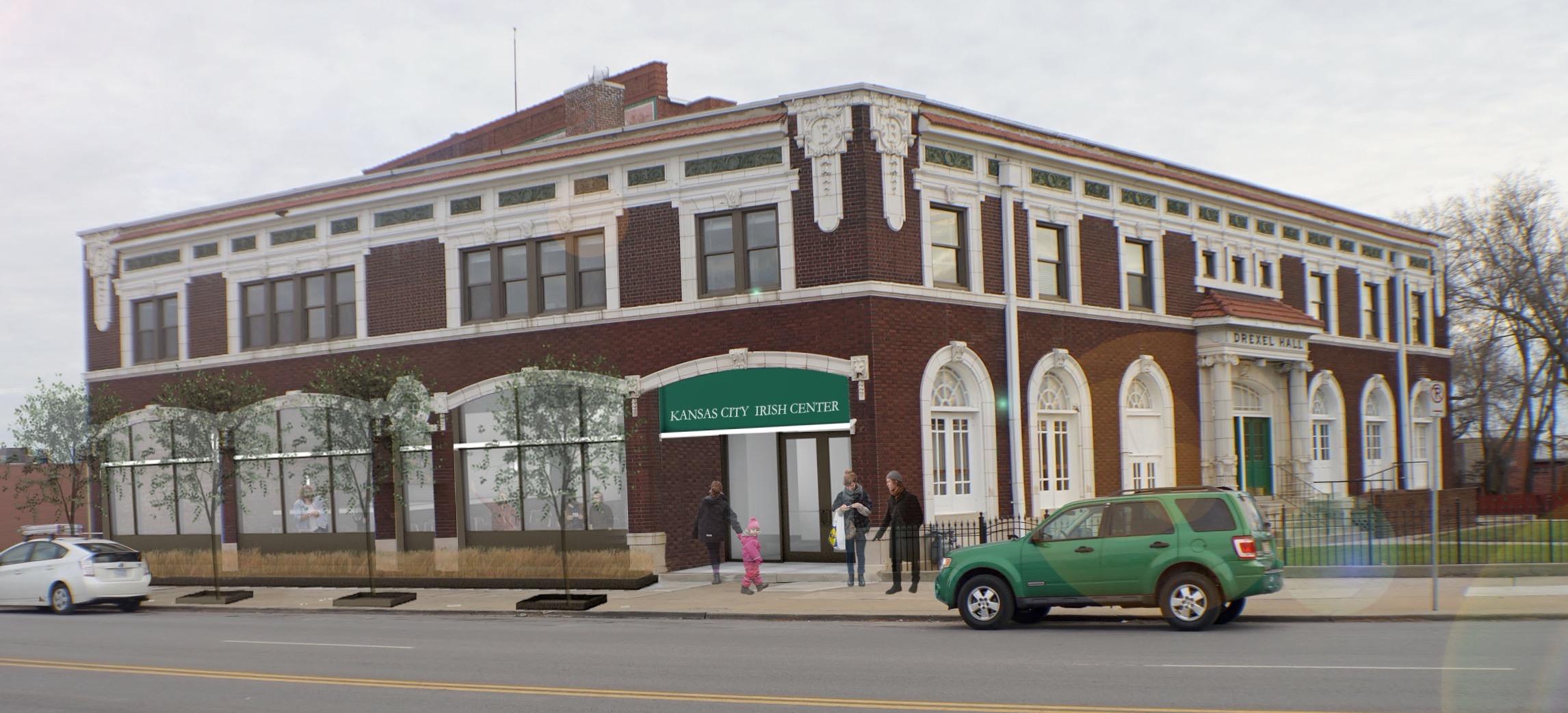 Kansas City Irish Center_exterior rendering